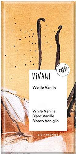 Vivani Bio Weiße Schokolade mit Vanille (6 x 80 gr)