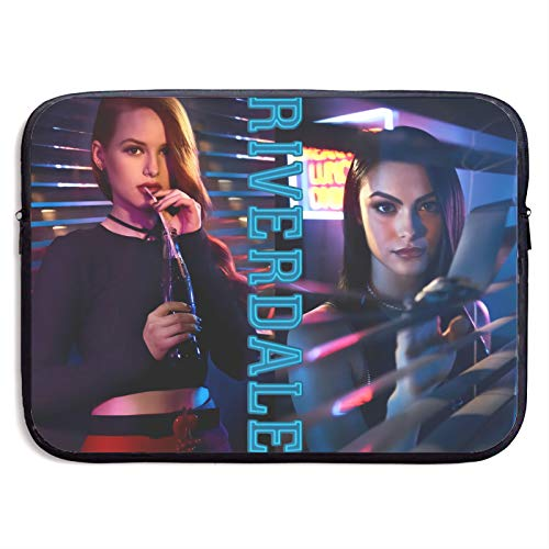 Riverdale Laptop Sleeve Case Protective Soft Padded Zipper Cover Carrying Computer Bag Laptop Sleeve Bag Water Repellent Vertical Protective Case 13 Inch
