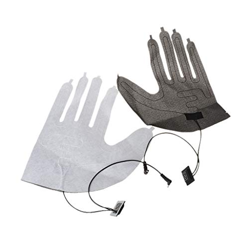 JHD 1 par de Almohadillas térmicas eléctricas USB para Guantes de Cinco...