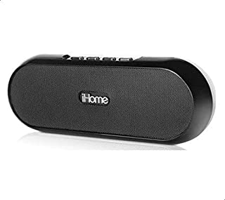 iHome iDM12 Rechargeable Portable Bluetooth Speaker System for iPad/iPhone/iPod