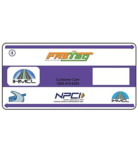 AADRAP Fast Tag for Private Car from HDFC/AXIS/SBI/ICICI/Indus (HDFC)