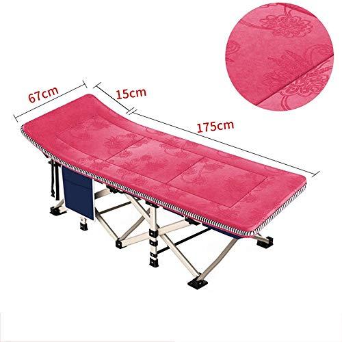 QTQZHH Sofa-Betten-Bett-Kinderbett-Bett-Erwachsener-tragbares Kinderbett-Krankenhaus-Sorgfalt-Liege-Couch (Farbe: 3)