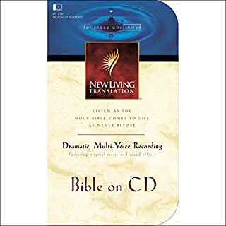 Bible on CD NLT                   By:                                                                                                                                 Tyndale House Publishers                               Narrated by:                                                                                                                                 Mike Kellogg                      Length: 73 hrs and 43 mins     Not rated yet     Overall 0.0