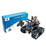 HARTI Mini Kit De Coche Robot Inteligente, La Programación De La Educación del Robot con Arduino Scratch Maker Robot De Control Remoto De Los Kits De Montaje De Automóviles