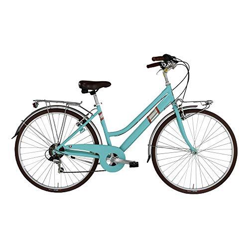 Alpina Bike Roxy, Bicicletta da Città Donna, Acquamarina, 28