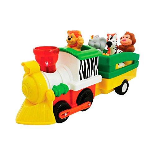 Kiddie Pays Chemins de Fer Safari avec Accessoires Voiture de Jeu, Multicolore