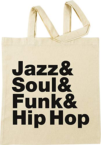 Vendax Jazz & Soul & Funk & Hip Hop Beige Borse per La Spesa