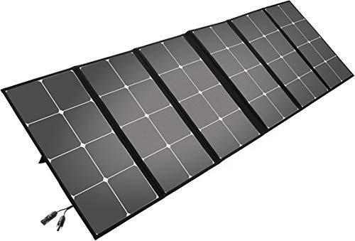 Litionite Arun 160W Panel solar plegable y portátil con soporte inclinado -...