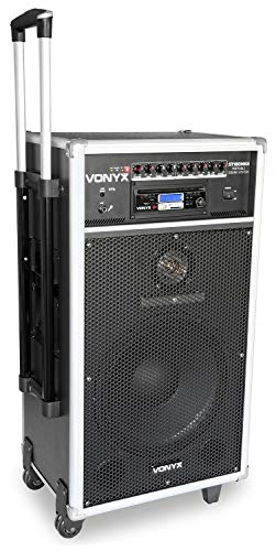 Vonyx ST180MKII Mobile PA-Anlage 450W USB, SD/MMC für MP3s CD-Player