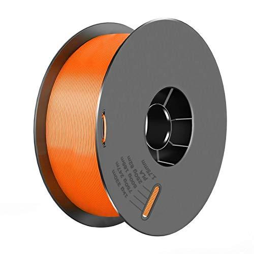 3D-Druckerteile PLA-Filament 1,75mm PLA 1kg pro Roll-PLA-Material für 3D-Druckfilament-PLA-3D-Druckerfilament (Color : Orange)