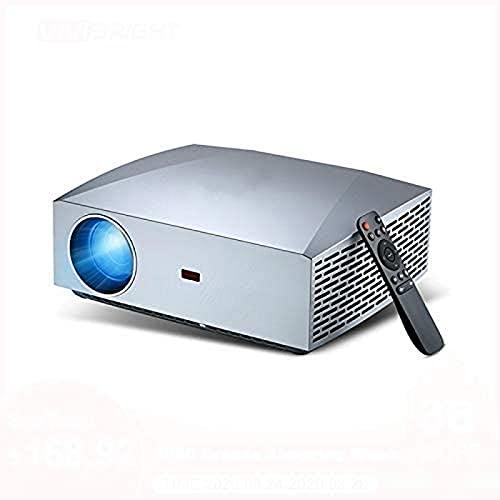 Proyector con Control Remoto True Full HD 1080p 5800 lúmenes Proyector de Video de película 3D TV Stick Ps4 Hdmi Home