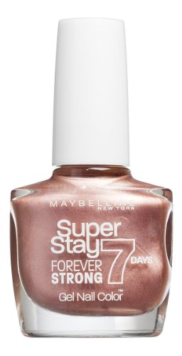 Maybelline New York Forever Strong Finish Nagellack  19 GOLDEN BROWN