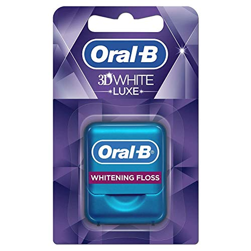 Oral-B - 3DWhite Luxe Blancheur Fil Dentaire-...
