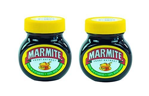 2 x 125g Marmite original englischer Brotaufstrich Hefeextrakt vegan