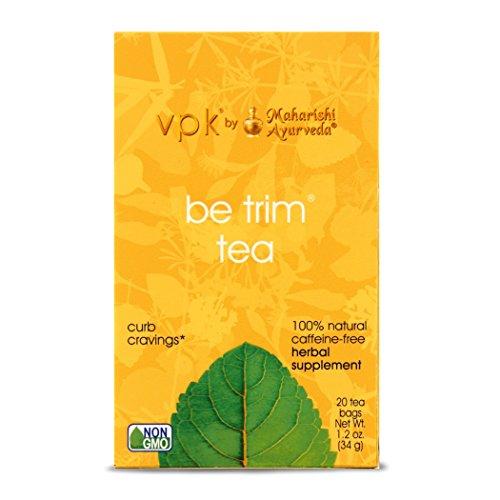 Ayurvedic Herbal Tea, 20 Herbal Tea Bags, 1.2oz (34g) (Be Trim Tea)