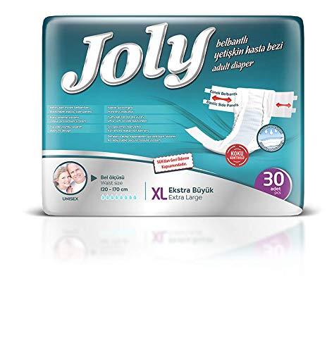Abelsmann - 30 Stück - Joly Inkontinenz-Windeln für Erwachsene - Größe XL - Gegen starke Blasenschwäche
