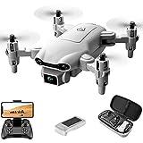 4drc V9 Mini Drone, Rc Drone con cámara de video en vivo HD FPV de 720p, cuadricóptero...