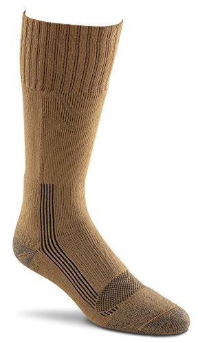 Fox River 6074 Socken für Erwachsene, Militärdocht, mittelschwer, mittelhoch, Größe S, Kojotenbraun