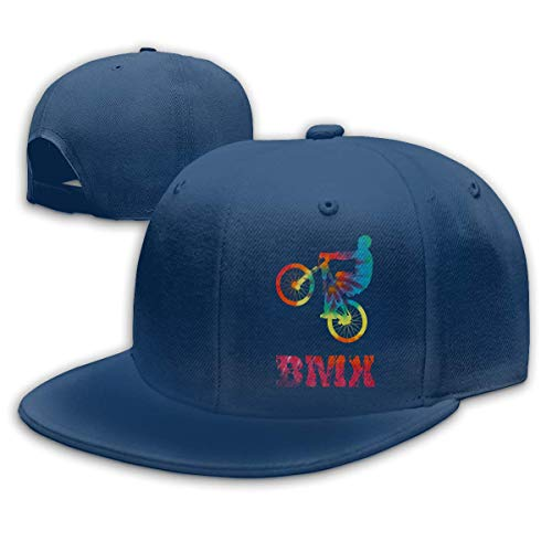DAIAII Hombre Mujer Gorras de béisbol, BMX Vintage Men & Women Adjustable Plain Baseball Cap Dad Hat