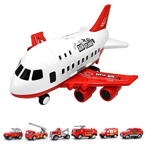 lijun Kinder Flugzeug Modell Spielzeug Set Simulation Großes Lager Transportflugzeug