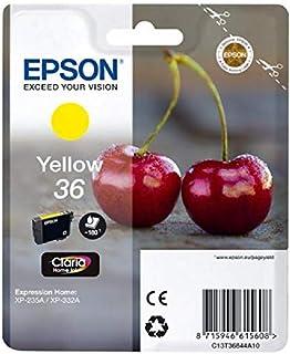 Epson 36 Inkjet Cartridge Yellow