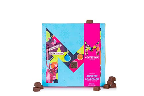 Montezuma's Organic Milk Chocolate Advent Calendar 240g