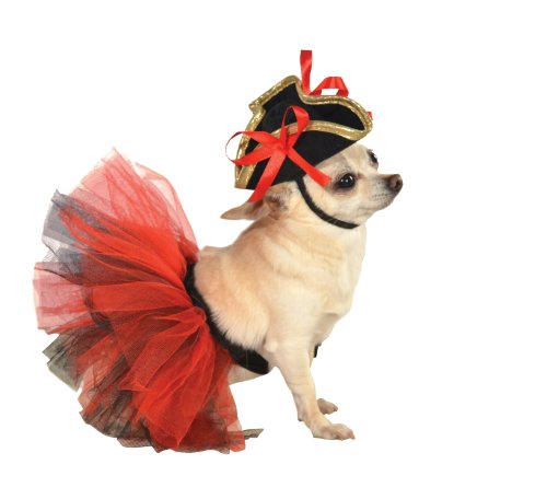 Rubie's Pet Tutu, Red and Black, Medium/Large - http://coolthings.us
