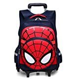 Rolling backpacks can help students reduce their burden and contribute to their healthy growth. Made of pu fabric, it has strong and durable properties, waterproof and easy to clean.The outermost layer is removable. It's a handsome bag. This trolley ...