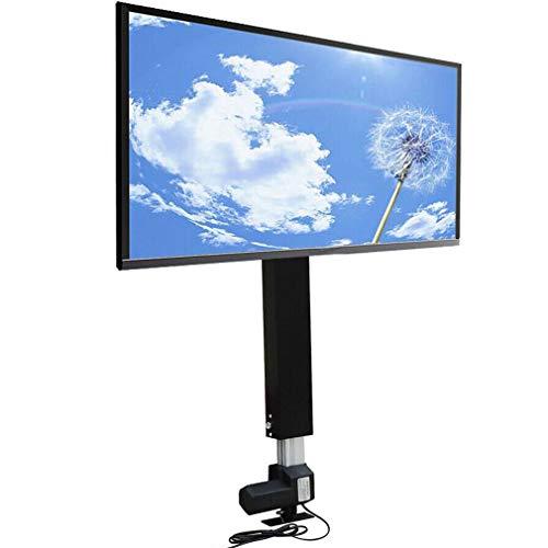 Soporte de pared para TV con mando a distancia, altura regulable, para televisores planos (700 mm)