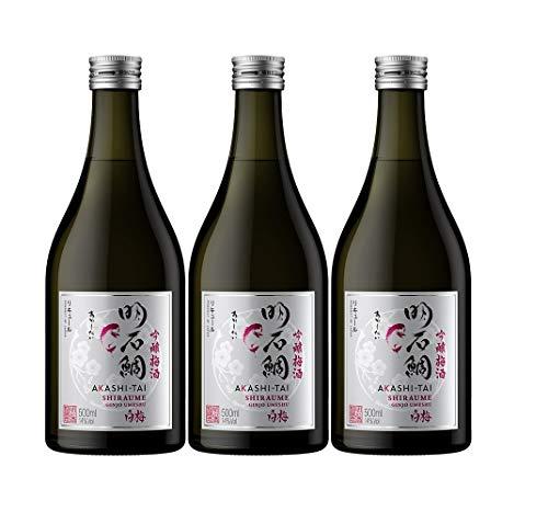 Akashi Sake Brewery Shiraume Ginjo Umeshu 14%vol NV (3 x 0.5 l)