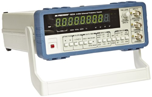 B&K Precision 1823A Universal Frequency Counter with Ratio Function, 2.4 GHz