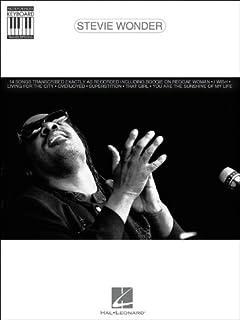 Hal Leonard Stevie Wonder Note For Note Keyboard Songbook