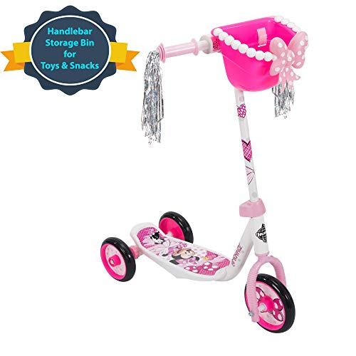 Huffy Bicycle Company Disney Minnie Mouse Preschool Scooter, One Size, Pink