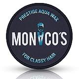 Monaco´s Prestige Aqua Wax - for classy hair - strahlendes Finish für besondere Anlässe - professionelles Haarstyling Wachs - optimaler Halt