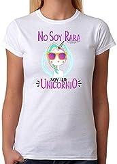Camiseta Unicornio. No Soy RARA Soy un Unicornio