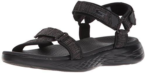 Skechers On The Go 600 Damen Sandale Beige Schuhe 15315 TPE