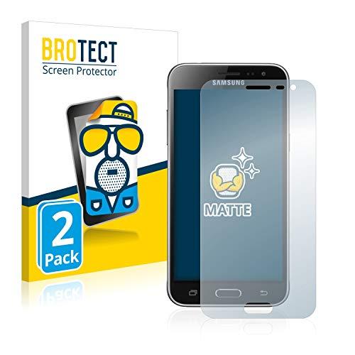 BROTECT 2X Entspiegelungs-Schutzfolie kompatibel mit Samsung Galaxy J3 / J3 Duos (2016) Bildschirmschutz-Folie Matt, Anti-Reflex, Anti-Fingerprint