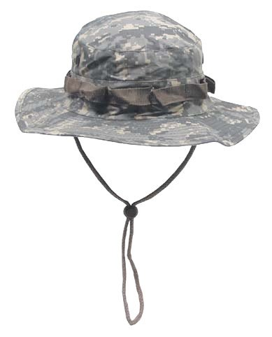 Boonie Hat Chapeau Brousse Jungle US Army Commando Trooper - Coloris at Digital Camouflage - Taille XLarge- Airsoft - Paintball - Chasse - Pêche - Randonnée - Outdoor