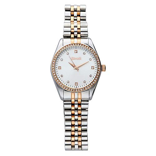 Orologio STROILI ORO GLAMOUR Collection Stainless Steel - SR-X2470L/03M cod.1624277 - Rose Gold