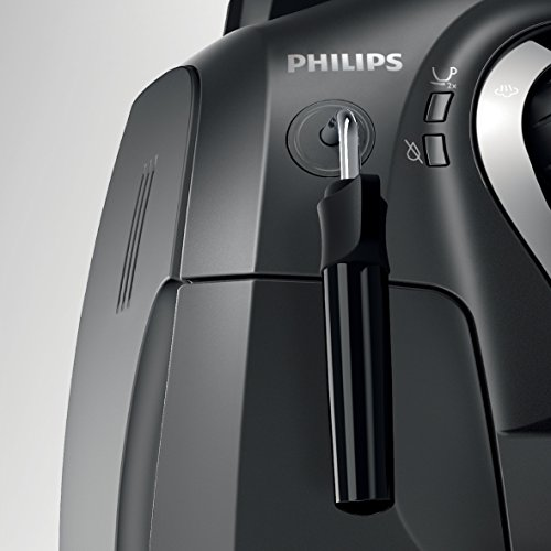 Philips 2000 Series Super Automatic Espresso Machine with Classic Milk Frother, HD8651/14, Black