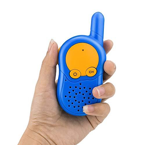 Walkie Talkies para Niños, Walki Talki, USB Recargable Walky Talky ...
