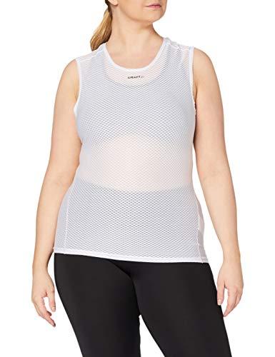 Craft Superlight Stay Cool sous-vêtement sans Manches Femme, Blanc, FR (Taille Fabricant : 42: XL)