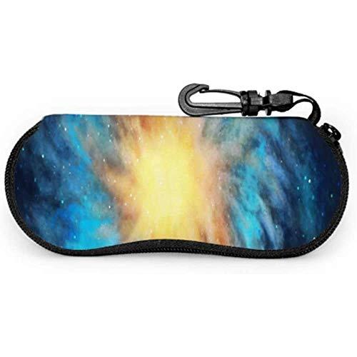 Nebula Vincent Van Goghs - Funda para gafas de sol de noche estrellada para niño, funda de neopreno con cremallera suave para gafas