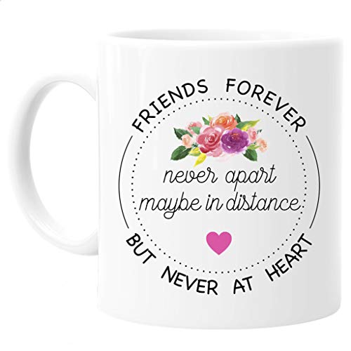 Friends Quote, State Long Distance Coffee Mug, All States and Countries 11oz or 15oz
