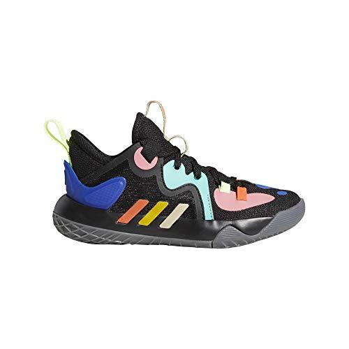 adidas Harden Stepback 2 C, Zapatillas de Baloncesto, NEGBÁS/AMARIL/MENACI, 32 EU