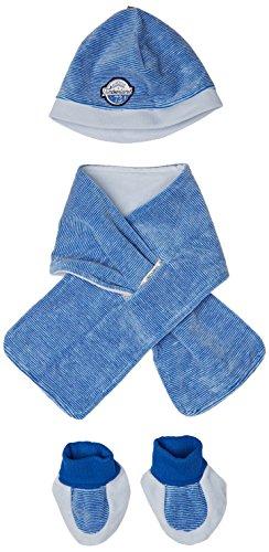 Timberland ENS. Bonnet+ECHARPE+Chaussons Sombrero, Azul (Ciel 771), (Tallas De Fabricante: 06 Months)...