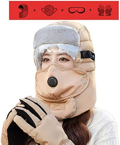 Full Face Mask Cold Cap Men s Women s Winter Hats Winter Hunting Hat Russian Hat Aviator Hat product image