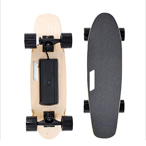 LSXX Professioneel skateboard voor elektrische wegen, skateboard, draagbare afstandsbediening, skateboard, zonder borstels, bereik van 10 kilometers