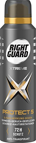 Right Guard Protect 5 72h Deospray, 3er Pack (3 x 150 ml)