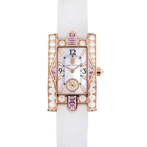 ハリー・ウィンストン HARRY WINSTON アヴェニュー クラシック オーロラ AVEQHM21RR125 ホワイト文字盤 新品 腕時計 レディース (W186681) [並行輸入品]
